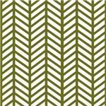 Drab Green Chevron Weave