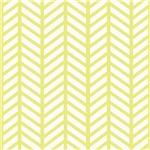 Baby Yellow Chevron Weave