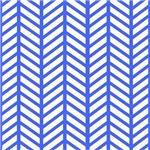 Blue Chevron Folder Stripe