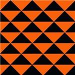Black and Orange Triangles