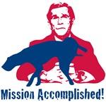 Anti Bush T-shirts. Mission Accomplished.