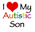 I love my autistic Son t-shirt. Support the autism