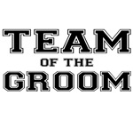 Team of the groom t-shirts. T-shirts for the groom