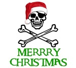 Pirate Christmas T-shirts. Merrry Christmas.