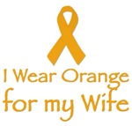 I WEAR ORANGE FOR MY WIFE