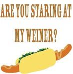 Are You Staring At My Weiner?