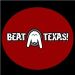 Beat Texas (Upside Down Longhorn)