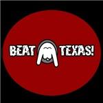 Beat Texas (Upside Down Longhorn)