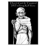 Angry Ghandi