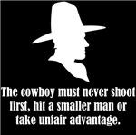 Never Shoot First