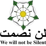 We will not be silent...
