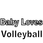 Baby Loves Volleyball
