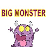BIG MONSTER. FUNNY MONSTER PICTURE