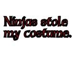 Ninjas Stole My Costume