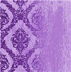 Fading Purple Damask