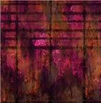 Pink Grunge Metal Look