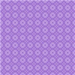 Pretty Purple Diamond Plaid