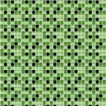 Green and Black Tiny Squares Pattern