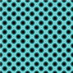 Turquoise Star India Inspired Pattern