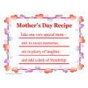 MOTHER'S DAY RECIPE T-SHIRTS AND GIFTS
