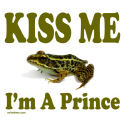 KISS ME I'M A PRINCE T-SHIRTS AND GIFTS