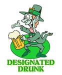 St Patricks Day Designated Drunk T-shirts & Gifts