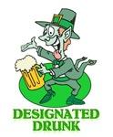 St Patricks Day Designated Drunk T-shirts & Gifts