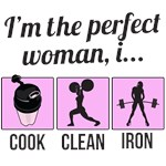 cook clean iron