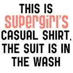 Supergirls casual shirt