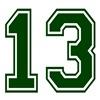 13 GREEN