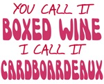 Boxed Wine Cardboardeaux