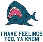 Great white shark feelings