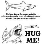 Sharks need hugs