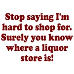 Know where liquor store is