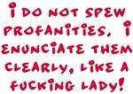 Enunciate Clearly