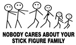 Anti Stick Figure Family