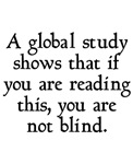 Reading This Not Blind