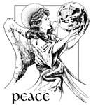 Peace Angel With Dove ~