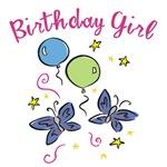 Birthday Girl Butterflies