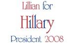 Lillian for Hillary 2008