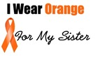 I Wear Orange For My Sister