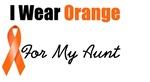 I Wear Orange For My Aunt