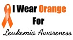 I Wear Orange For Leukemia Awareness