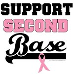 Support Second Base T-Shirts & Gifts (v1)