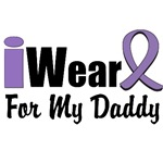 I Wear Violet Ribbon For My Daddy