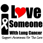 I Love Someone With Lung Cancer T-Shirts & Gifts