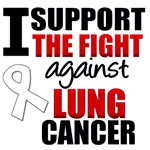 I Support The Fight Against Lung Cancer T-Shirts