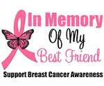 In Memory of My Best Friend Breast Cancer Shirts