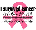 I Survived Breast Cancer T-Shirts