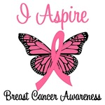 I Aspire Breast Cancer T-Shirts